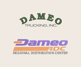 Dameo Trucking offers direct railcar siding, packaging and warehousing facilities, efficient trucking operations and logistics services to the Plastics Industry